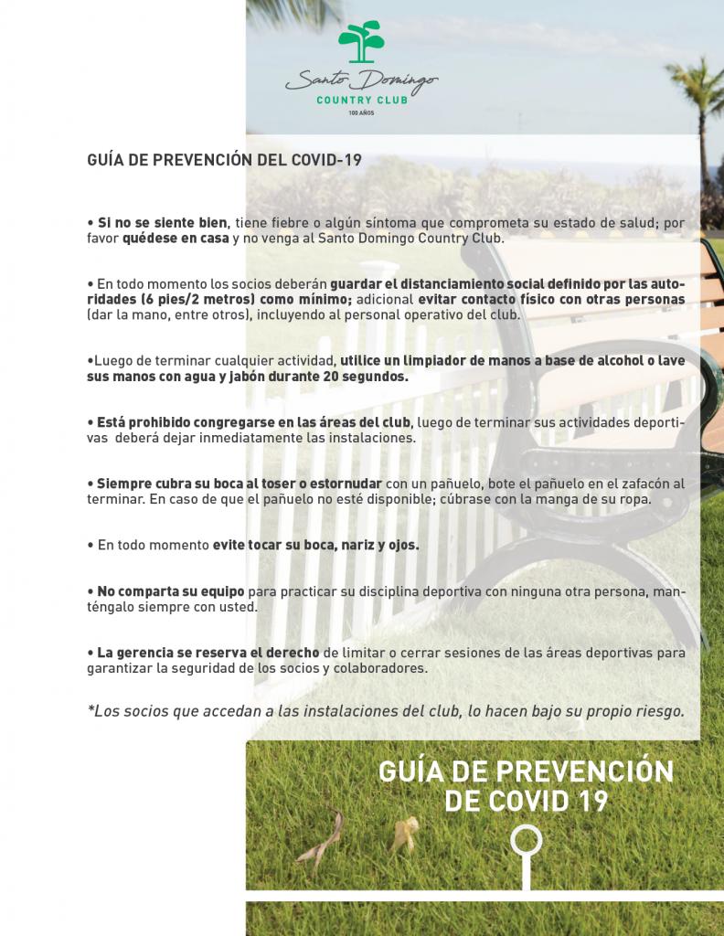 GUÍA DE PREVENCIÓN COVI-19