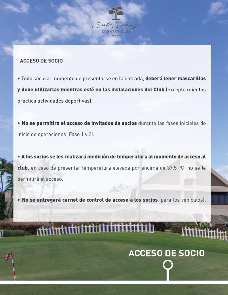 ACCESO DE SOCIO
