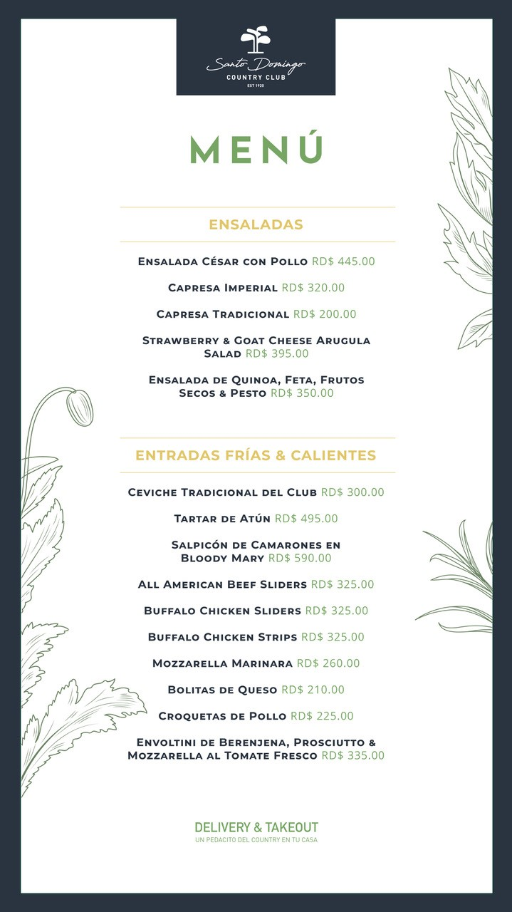 menu ensaladas